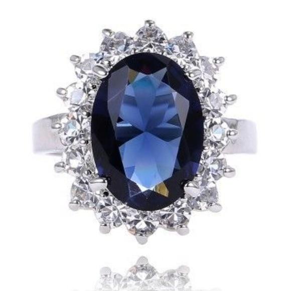 Princess Diana Wedding Ring.Princess Diana Replica Wedding Ring Nwt Boutique